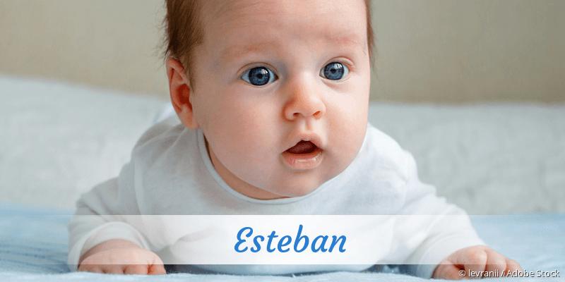 Name Esteban als Bild