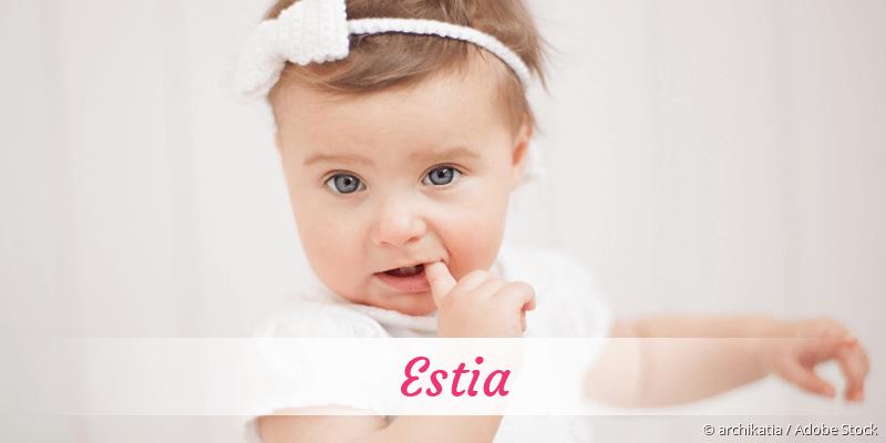 Name Estia als Bild