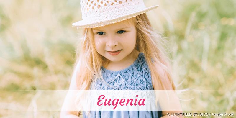 Name Eugenia als Bild