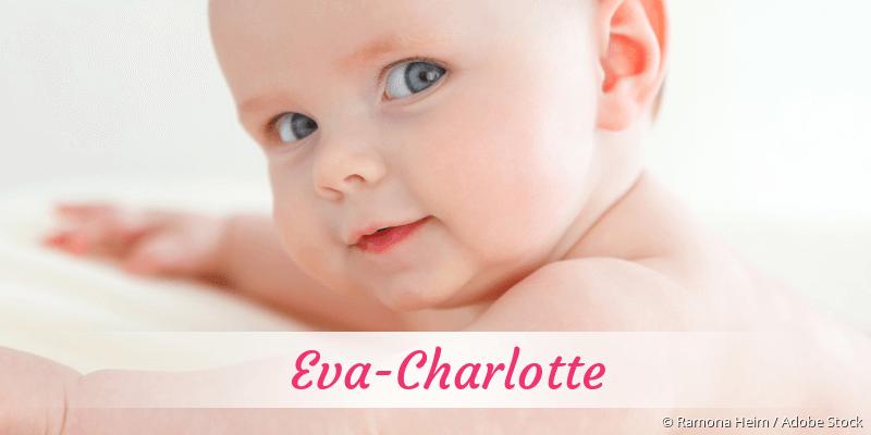 Name Eva-Charlotte als Bild