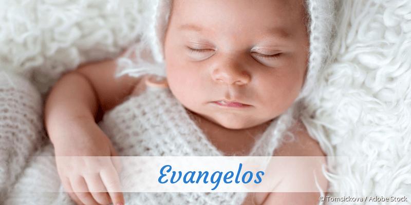 Name Evangelos als Bild