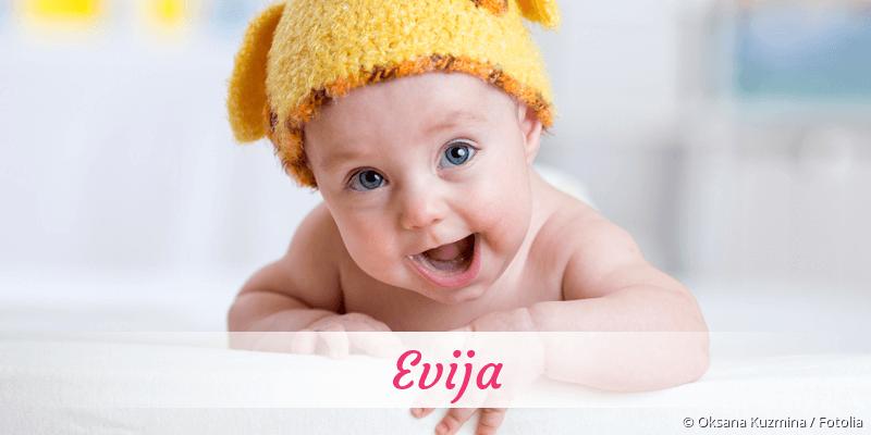 Name Evija als Bild