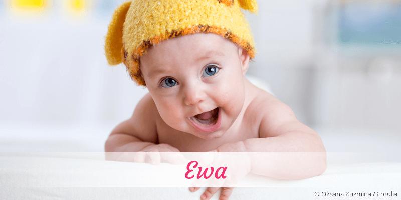 Name Ewa als Bild
