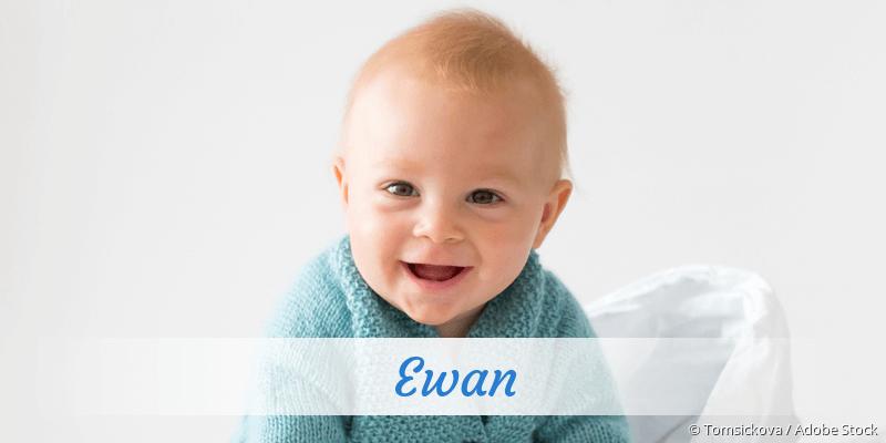 Name Ewan als Bild
