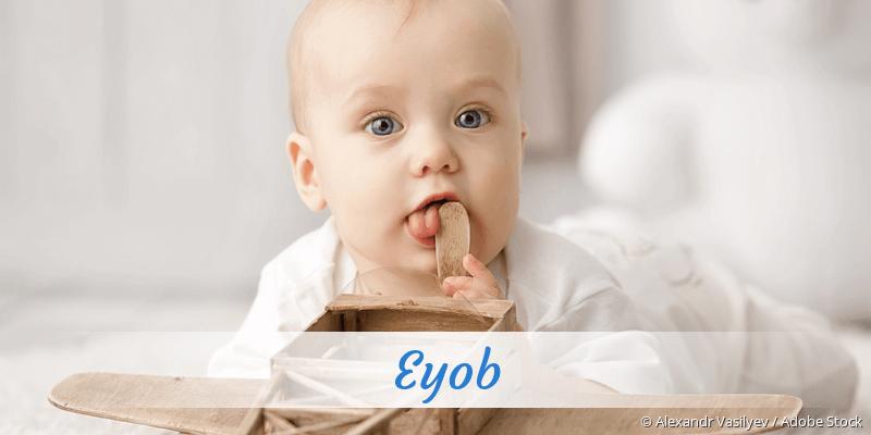 Name Eyob als Bild