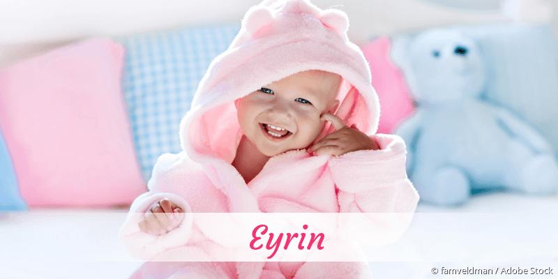 Name Eyrin als Bild
