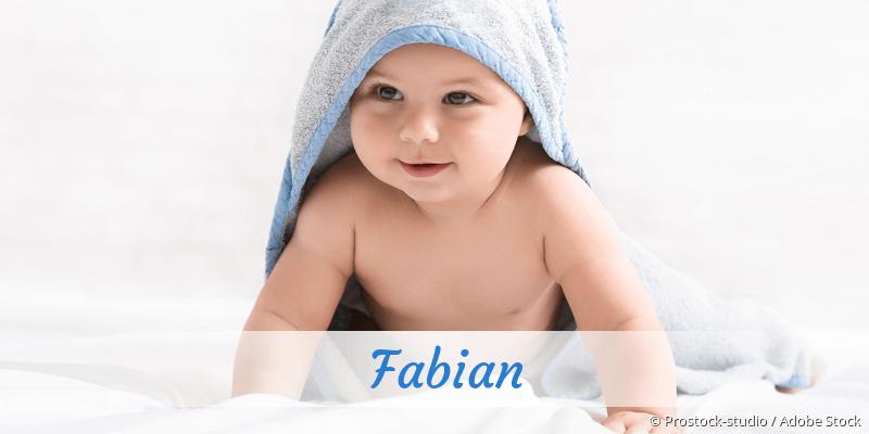 Name Fabian als Bild