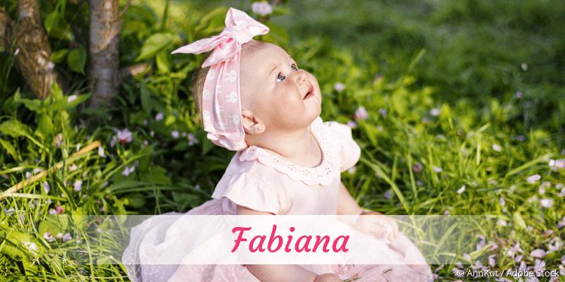 Name Fabiana als Bild