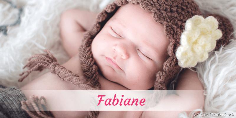 Name Fabiane als Bild