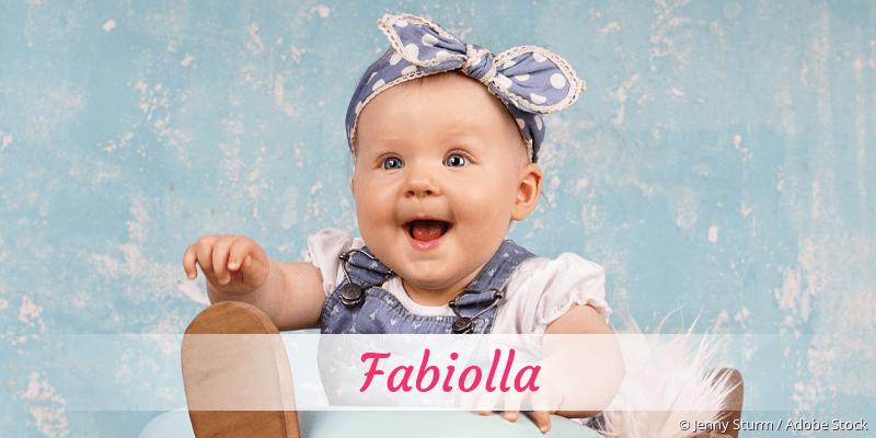 Name Fabiolla als Bild