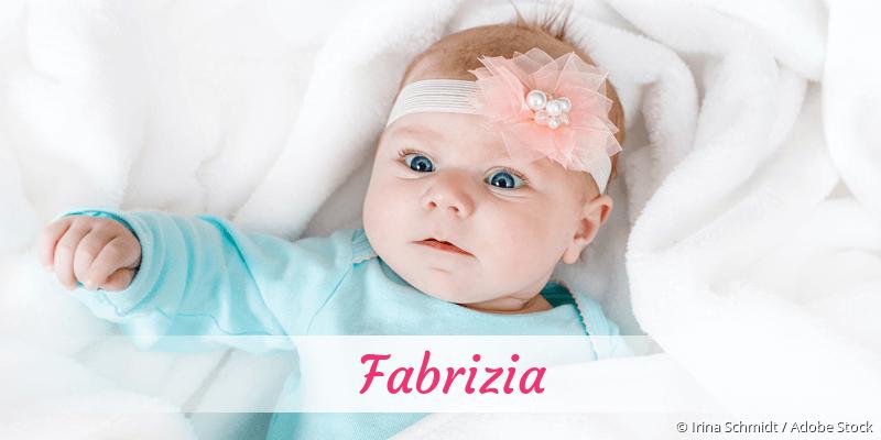 Name Fabrizia als Bild