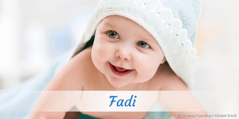 Name Fadi als Bild