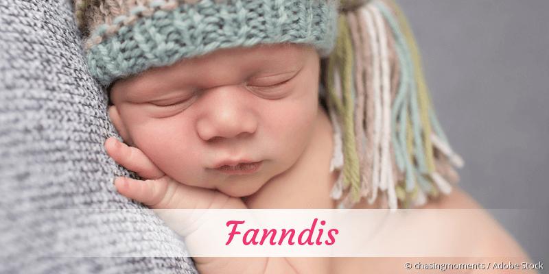 Name Fanndis als Bild