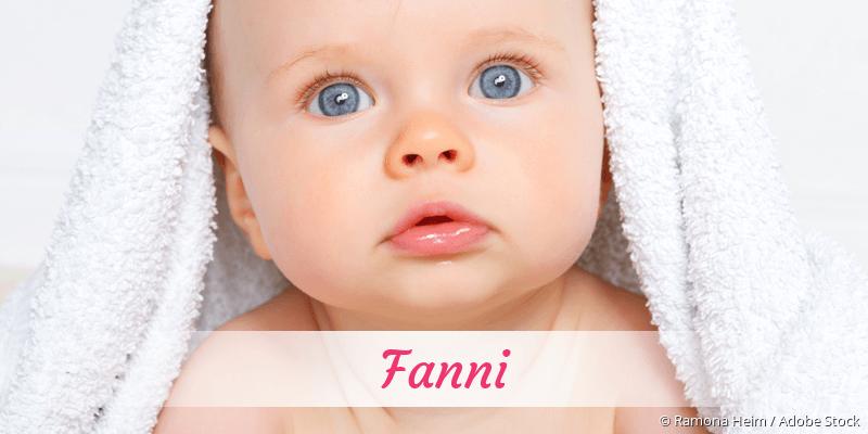 Name Fanni als Bild