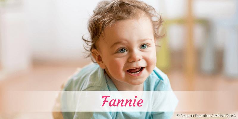 Name Fannie als Bild