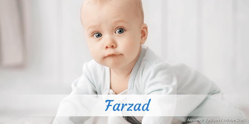 Name Farzad als Bild