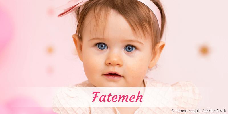Name Fatemeh als Bild