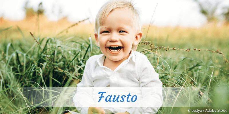 Name Fausto als Bild