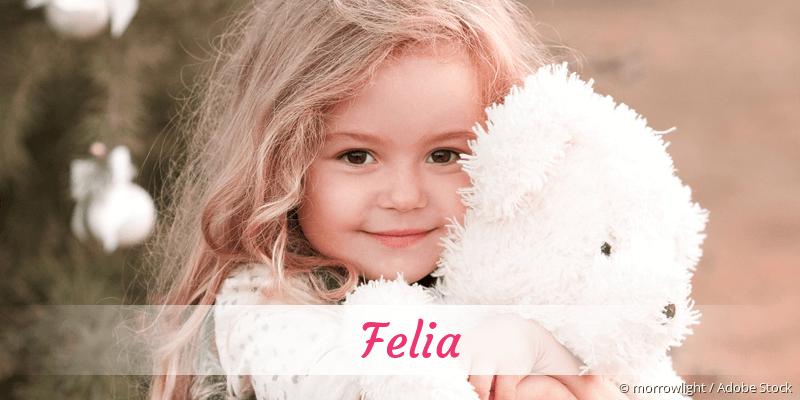 Name Felia als Bild