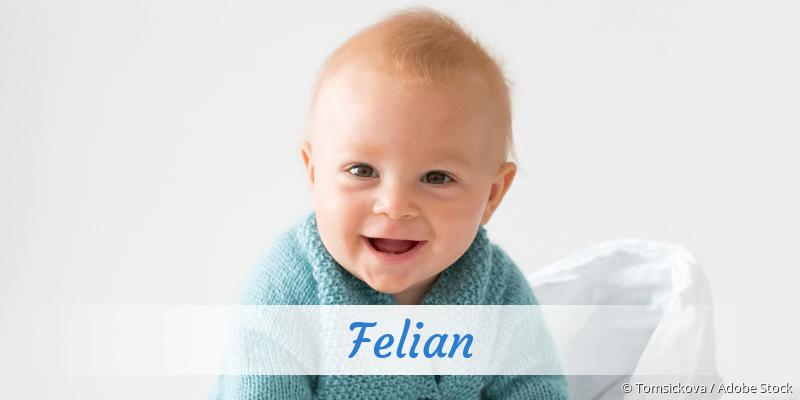 Name Felian als Bild