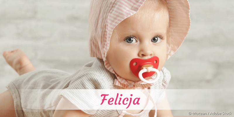 Name Felicja als Bild