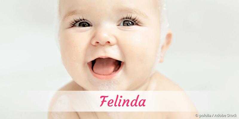Name Felinda als Bild