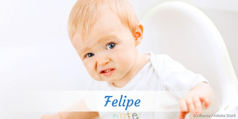 Name Felipe als Bild