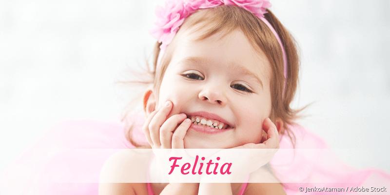Name Felitia als Bild