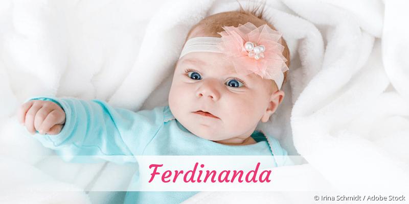 Name Ferdinanda als Bild