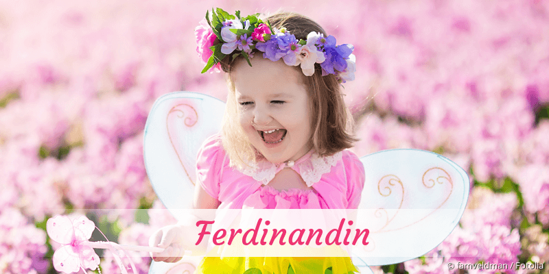 Name Ferdinandin als Bild