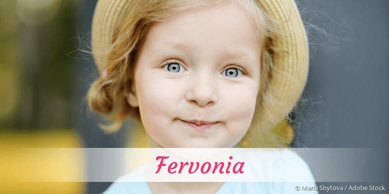 Name Fervonia als Bild