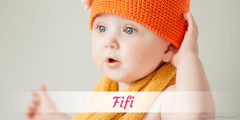 Name Fifi als Bild