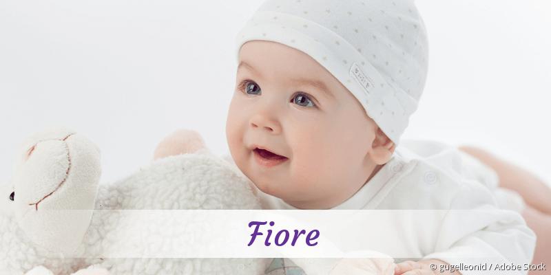 Name Fiore als Bild