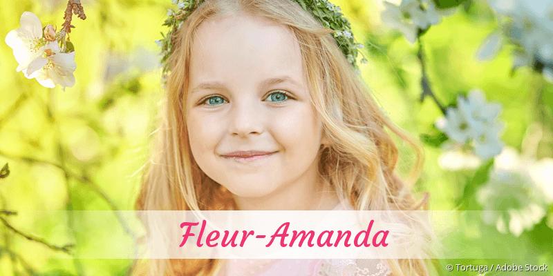 Name Fleur-Amanda als Bild