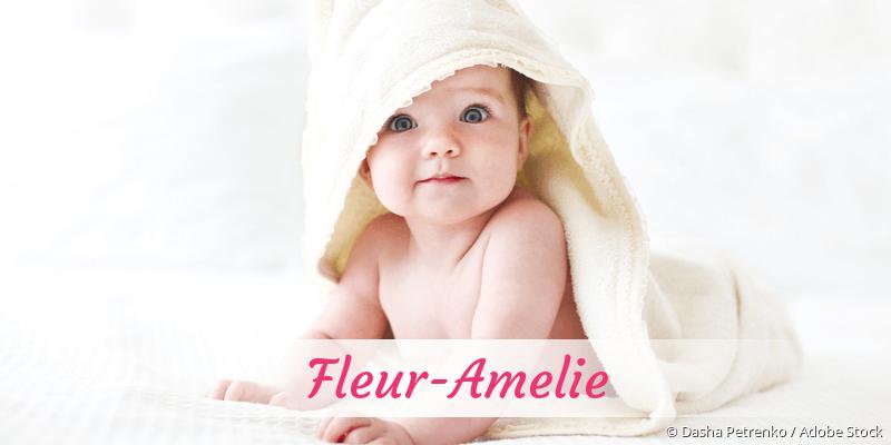 Name Fleur-Amelie als Bild