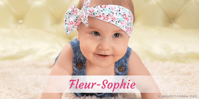 Name Fleur-Sophie als Bild