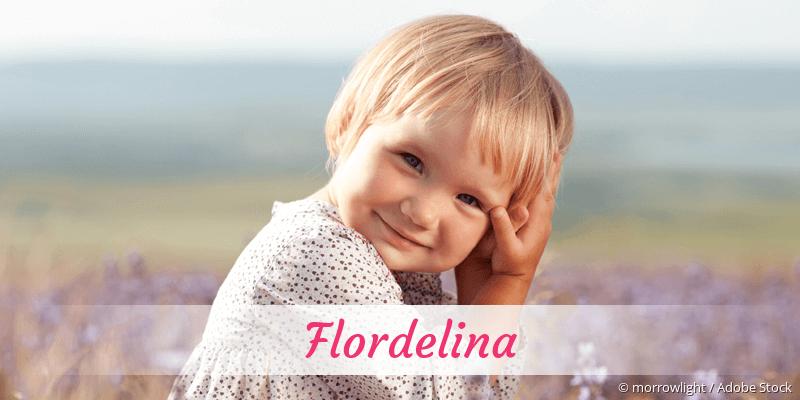 Name Flordelina als Bild