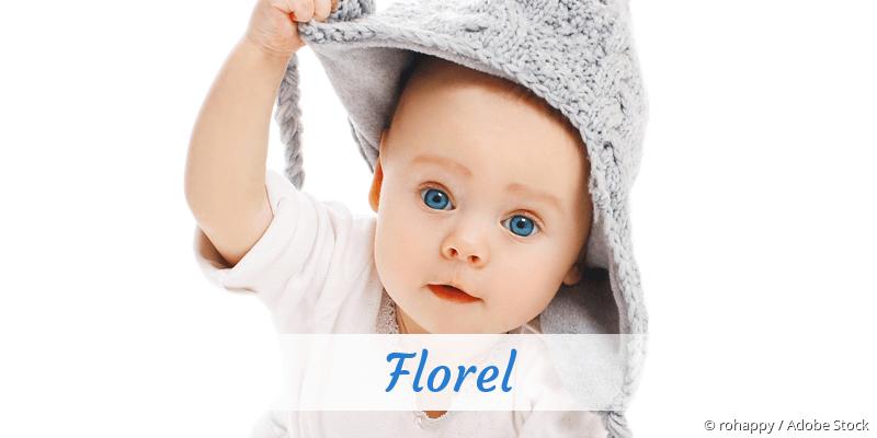 Name Florel als Bild