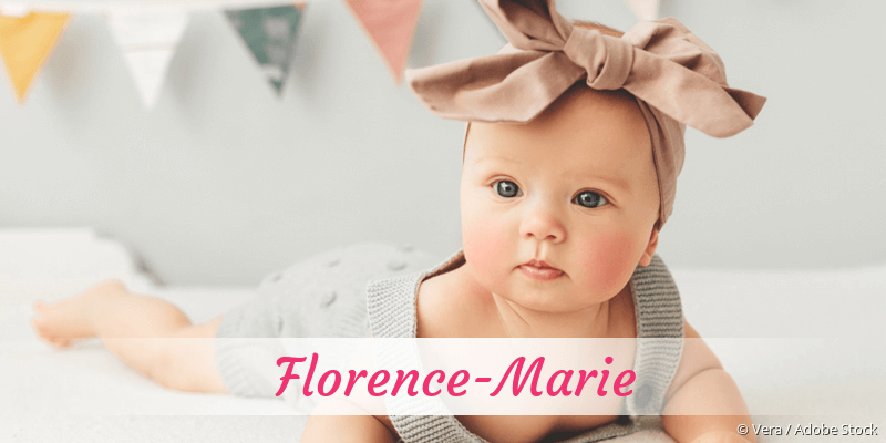Name Florence-Marie als Bild