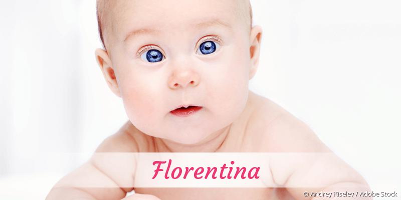 Name Florentina als Bild