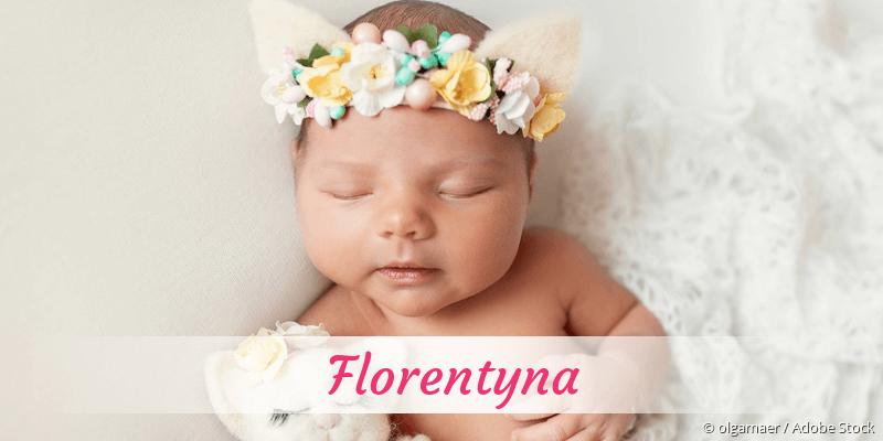 Name Florentyna als Bild