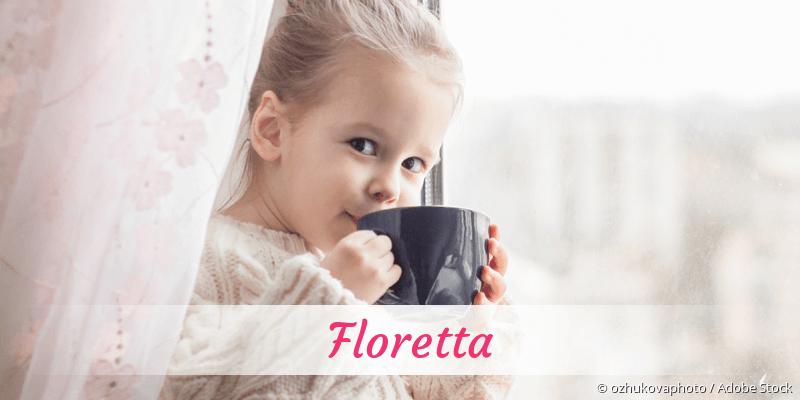 Name Floretta als Bild