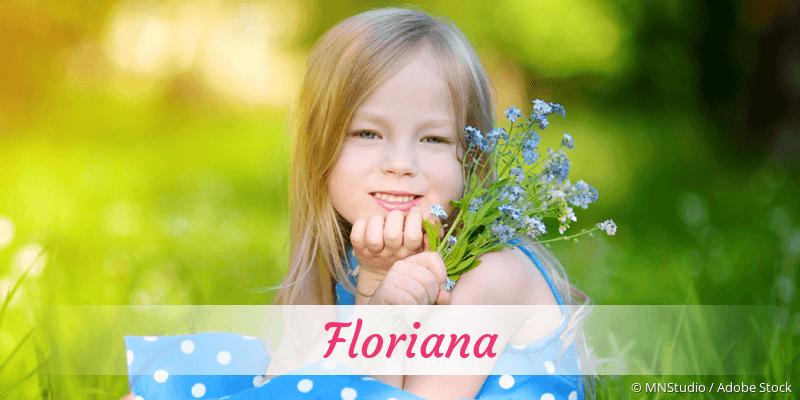 Name Floriana als Bild