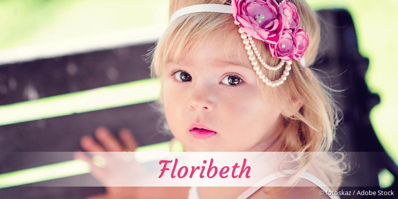 Name Floribeth als Bild