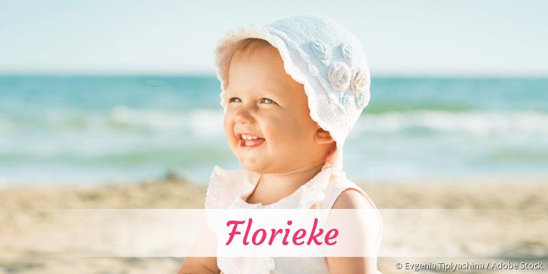 Name Florieke als Bild