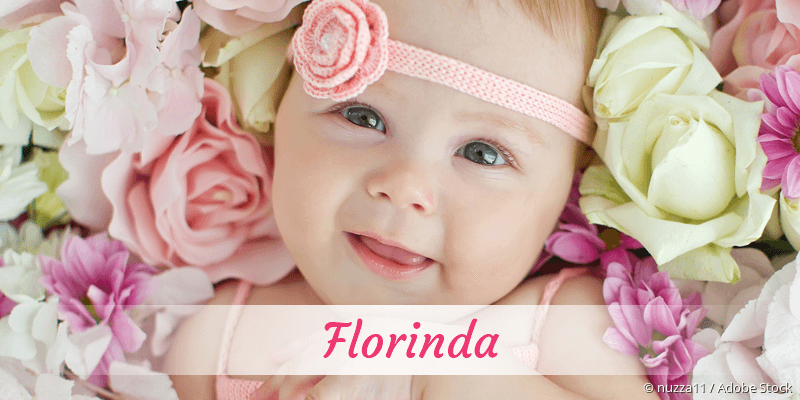 Name Florinda als Bild
