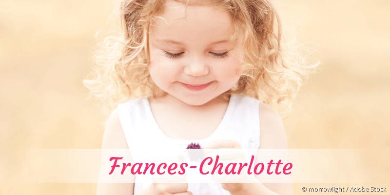 Name Frances-Charlotte als Bild