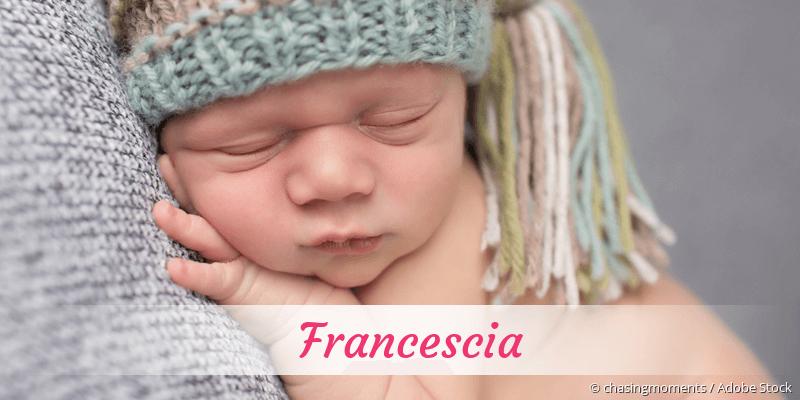 Name Francescia als Bild