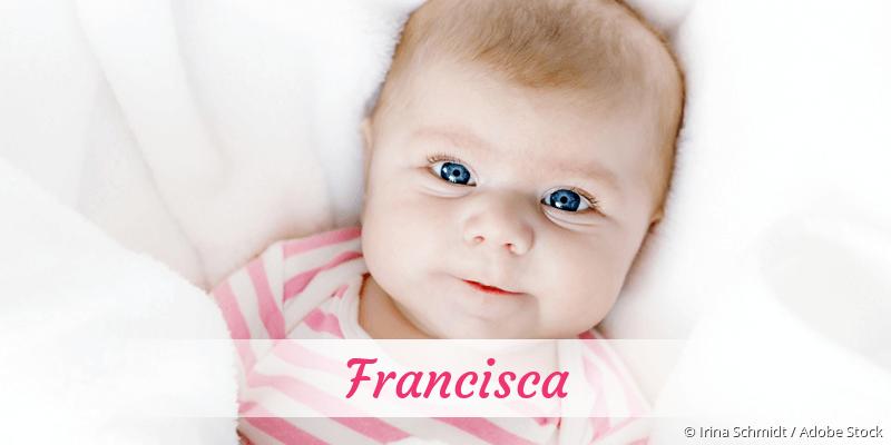 Name Francisca als Bild