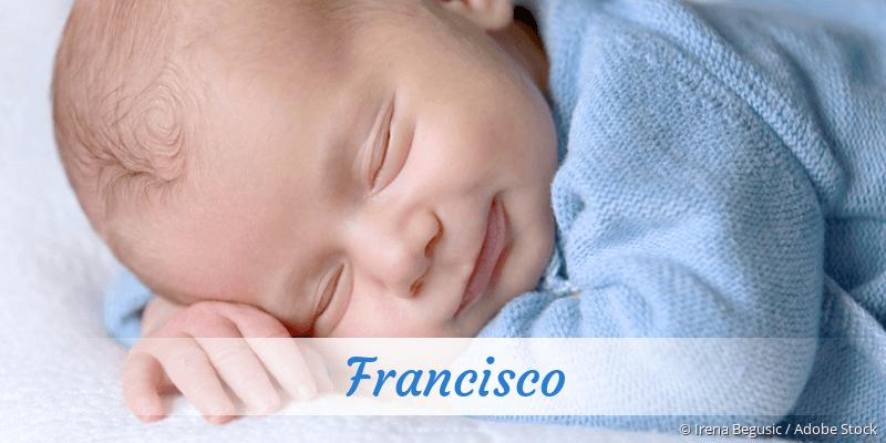 Name Francisco als Bild